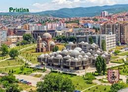 Kosovo Pristina Overview Library Cathedral New Postcard - Kosovo