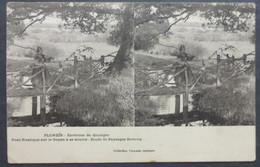CPA 29 PLONEIS - Pont Rustique Sur Le Goyen - Villard Stereo Précurseur  - Réf W 92 - Altri Comuni