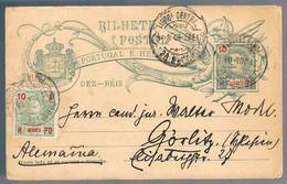 Açores, 1909, For Alemanha - Azores