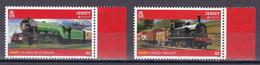 Jersey 2015 - Mi.Nr. 1901 + 1903 - Postfrisch MNH - Eisenbahnen Railways Europa CEPT - Trains