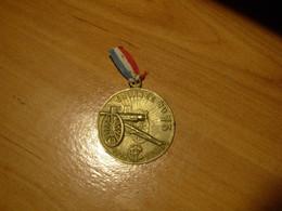 Grande Guerre 1914 1918  Médaille  JOURNEE DU CANON De 75 Mm  Ruban D'époque  Médaille En TBE - Other
