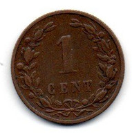 Pays Bas - 1 Cent 1900 - TB - 1 Cent