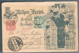 Ponta Delgada, 1898, For Konigsberg - Ponta Delgada