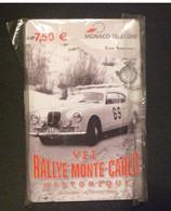 CARTE  TELEPHONE 7,50 EURO VII RALLY MONACO MONTE - CARLO MUCH RARE !! TIRAGE 6000 / 12.2003 NEUF - Mónaco