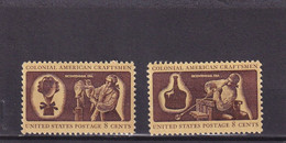 ETATS-UNIS 1972 : Y/T N° 955 956 NEUF** - Unused Stamps