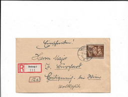 Brief Aus Bottrop 1944 - Cartas