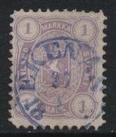 Finland (10) 1875 1m. Mauve. Perf. 11 Used - Usati