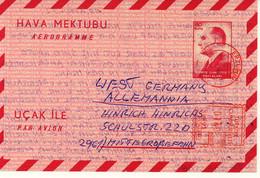 Turkey Aerogramme (190) - Interi Postali
