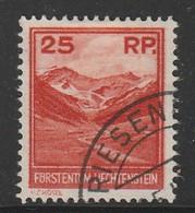 LIECHTENSTEIN - N°111 Obl (1933) - Used Stamps