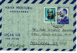 Turkey Aerogramme (191) - Interi Postali