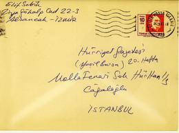 Turkey Envelope Used (199) - Interi Postali
