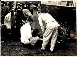 INTERNATIONAL SPEED HILL CLIMB BUGATTI OWNERS CLUB PRESCOTT 1954 21*16CM MOTOR RACING RACE Car Course D'automobile - Auto's