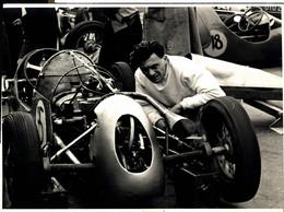R.A. ANDERSON STARIDE SUNBAC RACE MEETING SILVERSTONE 1954  21*16CM MOTOR RACING RACE Car Course D'automobile - Auto's