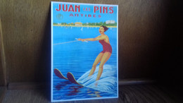 PUB.PLM. Juan Les Pins ,Antibes. (Vic Raymon)(S48-20) - Publicidad
