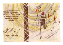 Lituania PNL, 10 Centauru, 1991, Olimpiadi REGIONALE - Lituania