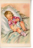 Illustrée : Bébé Endormi Au Biberon - Portraits