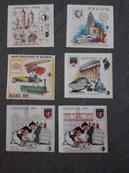 Lot De 6 Blocs CNEP 1988 à 1992 - CNEP
