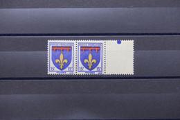 FRANCE - Variété - N° Yvert 574 Pli Accordéon Sur Paire - Neufs - L 79276 - Variétés: 1941-44 Neufs