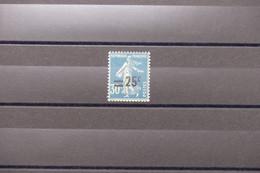 FRANCE - Variété - N° Yvert 217 Type Semeuse - Surcharge Déplacée - Neuf - L 79279 - Variétés: 1921-30 Neufs