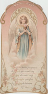 De53 /V.P.  : Image  Pieuse : Communion ,chapelle Du  Collège  Saint  Louis 1909 , Imp à Uzel - Devotion Images