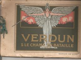 Verdun Et Le Champ De Bataille Livre De 32 Photos - 1914-18