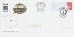 PAP REPIQUE ECLIPSE SOLAIRE à THOUROTTE OISE 1999 - Prêts-à-poster:private Overprinting