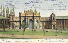 Turquie Constantinople (Istanbul) - Porte Du Palais Impérial à Dolma-Bagtché (Dolmabahçe) Colorisée 1905 BE 2€ - Türkei