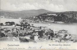 Turquie Constantinople (Istanbul) - Vue D'Arnaout-Keuy (Bosphore) 1908 TB - Türkei