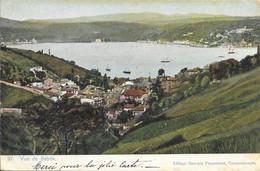 Turquie Constantinople (Istanbul) - Vue De Bébék (Bebek) 1907-03-24 Bateau Colorisée TB - Türkei