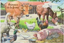 Année :2004 Nature De France : Animaux De La Ferme Numéro Catalogue Yvert Et Tellier : 3662 à 3665 - Ongebruikt