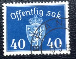 Norge - Norway - Noorwegen - P4/18 - (°)used - 1946 - Michel D57 - Offentlig Sak - Service