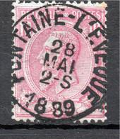 Belgie - Belgique - Capon - Nr 46 - Fontaine L'Eveque - 1884-1891 Leopold II