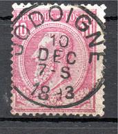 Belgie - Belgique - Capon - Nr 46 - Jodoigne - 1884-1891 Leopold II