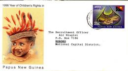 Papua New Guinea Envelope Postal Stationery Used (225) - Papúa Nueva Guinea