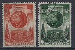 Rusland   Y/T  1075 / 1076    (O) - Gebruikt