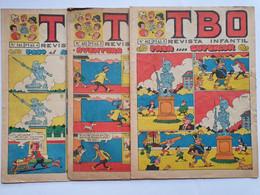 3 Revistas TBO Nº 543 (1968), 602 (1969) 652 (1970) - Old Comic Books