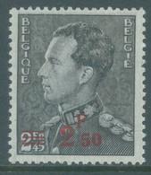 BELGIQUE - 1938 - MNH/*** - LUXE - LEOPLOD III POORTMAN OVERPRINT 2.50 ON 2.45 - COB 478 - Lot 22855 - 1936-1951 Poortman