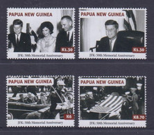 Papua New Guinea 2013 JFK 50th Memorial Anniversary Stamps MNH - Papoea-Nieuw-Guinea