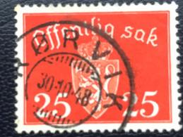 Norge - Norway - Noorwegen - P4/18 - (°)used - 1946 - Michel D55 - Offentlig Sak - Service
