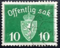Norge - Norway - Noorwegen - P4/18 - (°)used - 1948 - Michel D35 - Offentlig Sak - Service