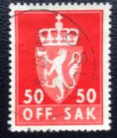 Norge - Norway - Noorwegen - P4/18 - (°)used - 1962 - Michel D88x - Offentlig Sak - Oslo - Service