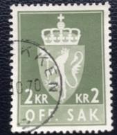 Norge - Norway - Noorwegen - P4/18 - (°)used - 1975 - Michel D100 - Offentlig Sak - Service