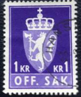 Norge - Norway - Noorwegen - P4/18 - (°)used - 1970 - Michel D83y - Offenbtlig Sak - Service