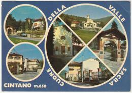 CINTANO - TORINO - VEDUTINE - VIAGG. 1975 -52909- - Otras Ciudades