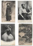 Madame DELAIT  Femme ... à Barbe  (lot De 17 Cartes ) 16 Avec Le Tampon DELAIT Thaon Les Vosges - Andere Persönlichkeiten