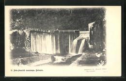 AK Nouvel Athos, Monastère - La Cascade, Wasserfall - Georgia