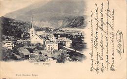 NATERS (VS) - Vue Générale église . ED. Ferd Burcher, Brigue - VS Valais