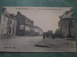 MARCILLE-ROBERT - La Grande Rue (côté Ouest) Et Les Vieux Porches - Sonstige Gemeinden