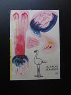 Chromo - Image - Découpage : LA VACHE SERIEUSE - Altri