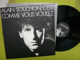 Alain Souchon - 33t Vinyle - C'est Comme Vous Voulez - Otros - Canción Francesa